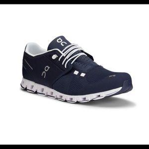 On Running Men's Cloud Sneakers Navy/White 37